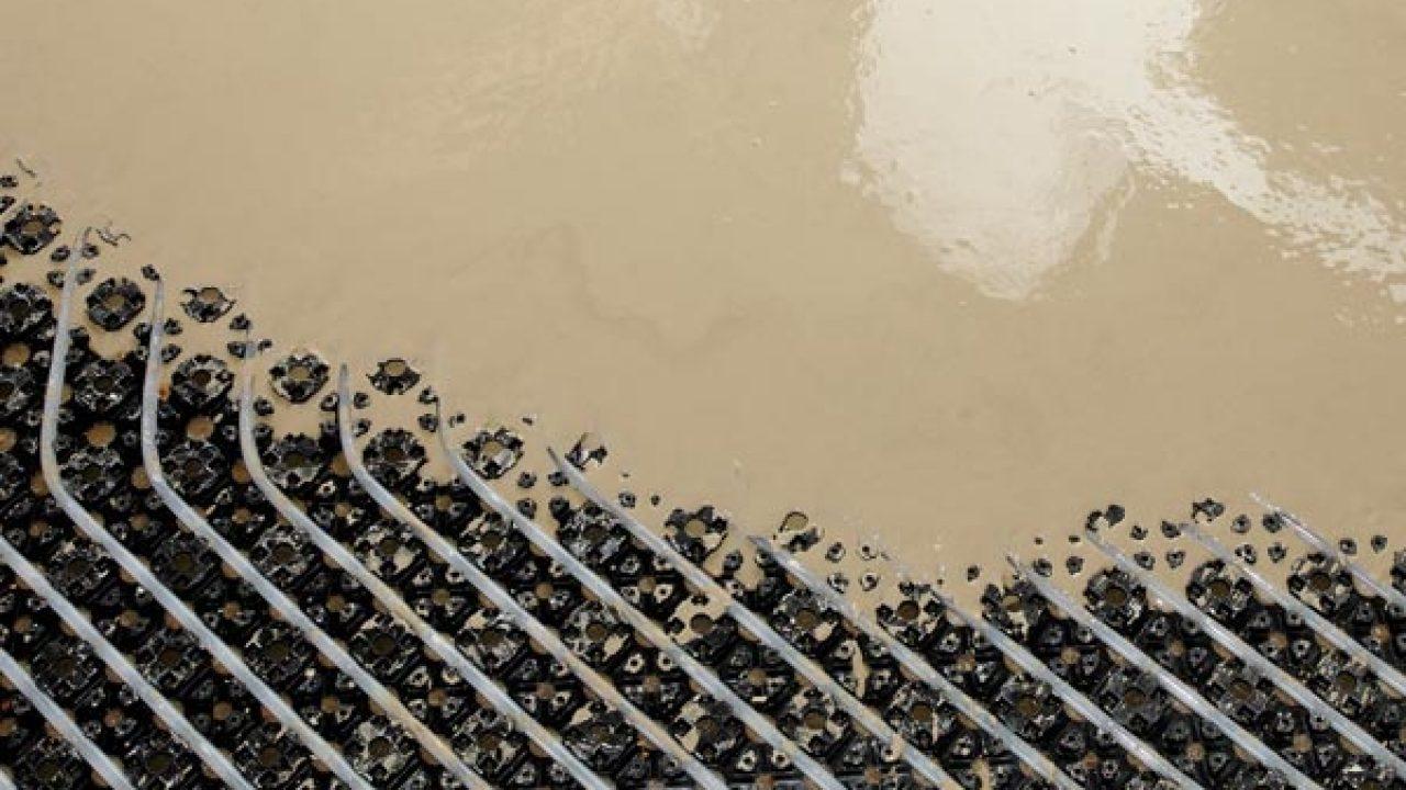 Riscaldamento A Pavimento Ribassato Spessore livellina certificata | malta autolivellante minimo spessore